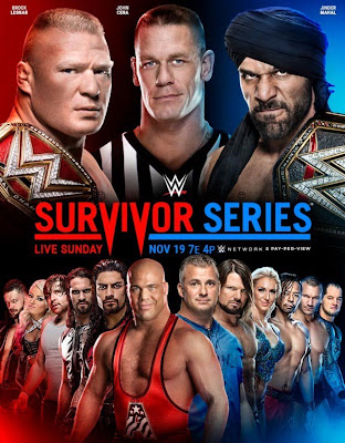 Leaked Survivor Series 2017 Poster