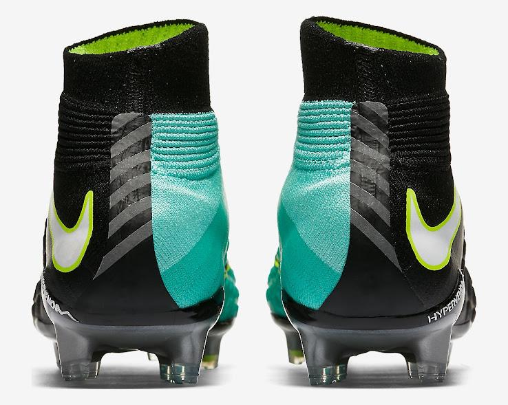 05a3c7fbf020 Black   Light Aqua Nike Hypervenom Phantom III Women s Boots ...