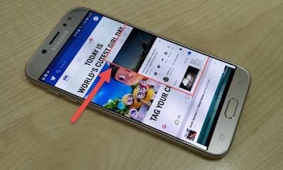 Cara Mengaktifkan Split Screen di Samsung Galaxy J7