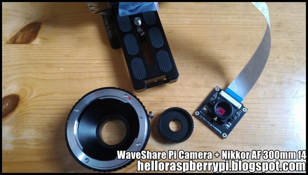Hello Raspberry Pi: Pi telecamera - WaveShare Raspberry Pi Camera