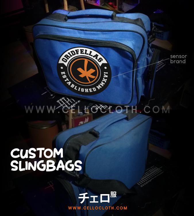 Bikin sling bags tas selempang distro murah
