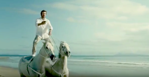 New Bingle Insurance Ad: Getting A Quote Is As Easy As Roman Riding Horses