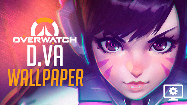 D.va Overwatch Fully Animated Wallpaper Engine