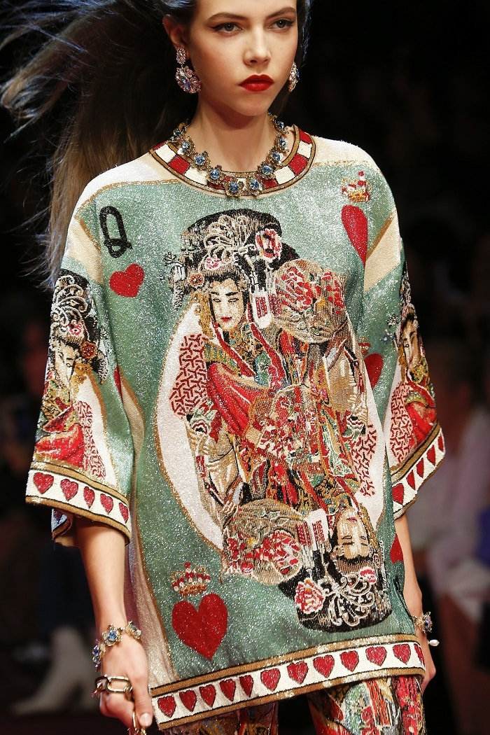 Dolce and Gabbana SS2018, fashion, luxury fashion brands, luxury fashion in China