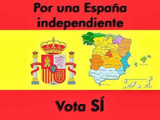 Por una España independiente, vota si.