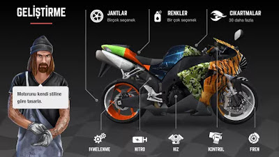 تحميل Racing Fever Moto كاملة للأندرويد مهكرة باخر تحديث