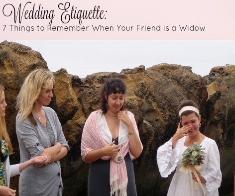 A Little Pink in a World of Camo: Wedding Etiquette: 7