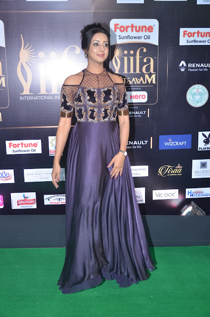 sanjana stills at iifa 2017