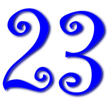 23...a great number.