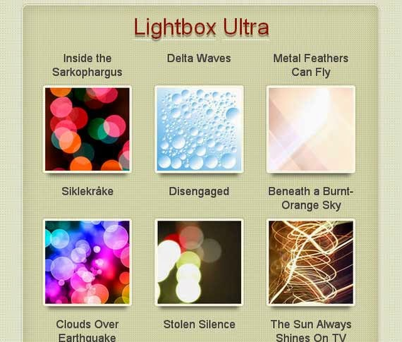 Modern Lightbox with CSS3 and JavaScript