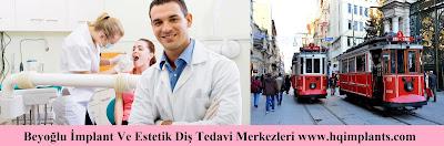 Beyoğlu İmplant Ve Estetik Diş Tedavi Merkezleri