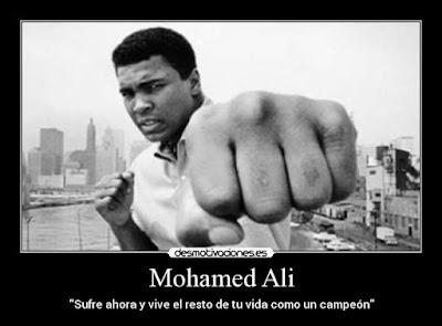 Mohamed Ali - Espiritu del Luchador - Nunca te rindas