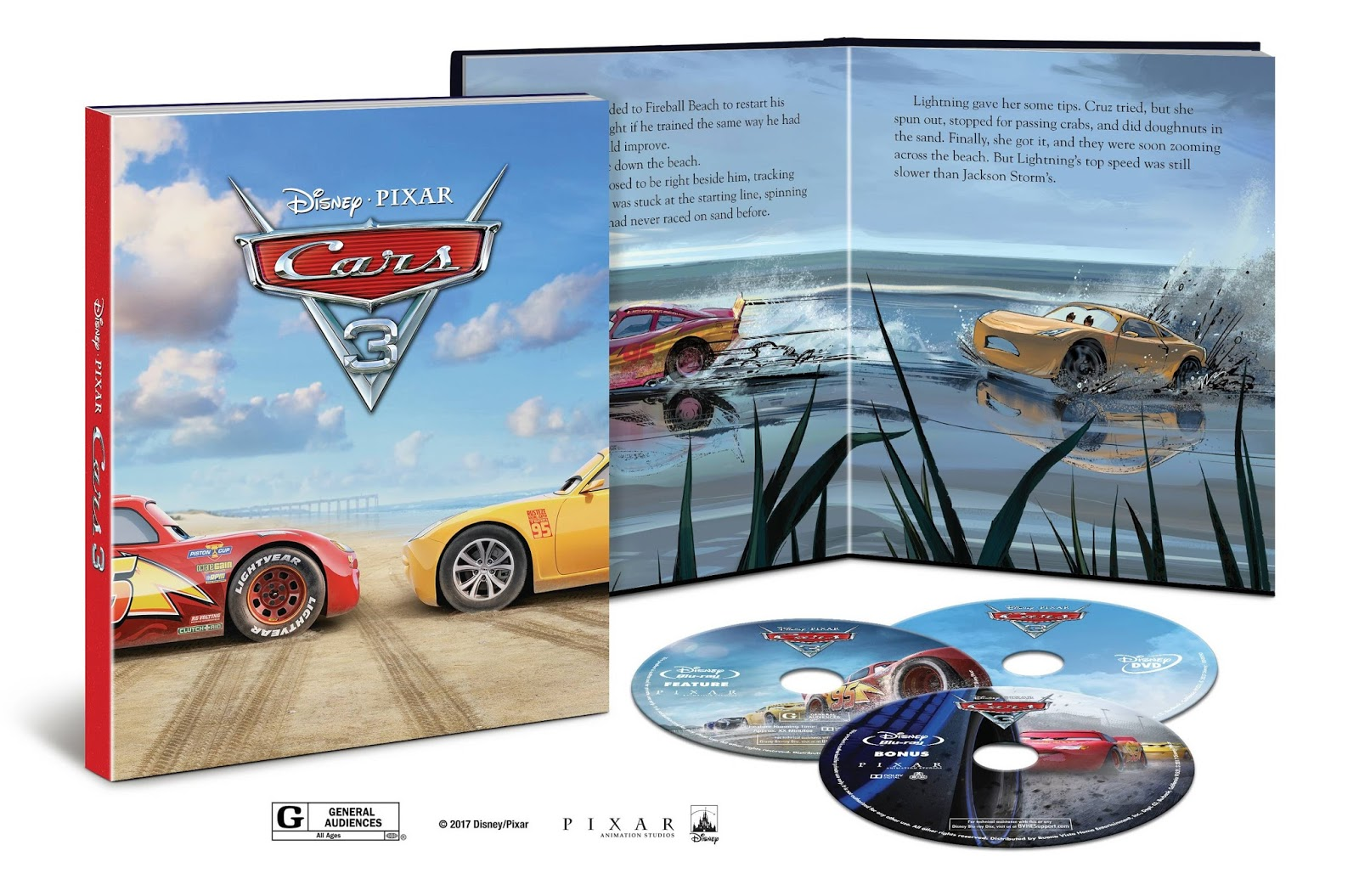 cars 3 blu ray dvd release date
