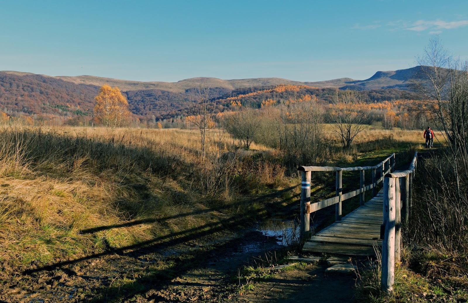 Bieszczady Szlak Wołosate Most