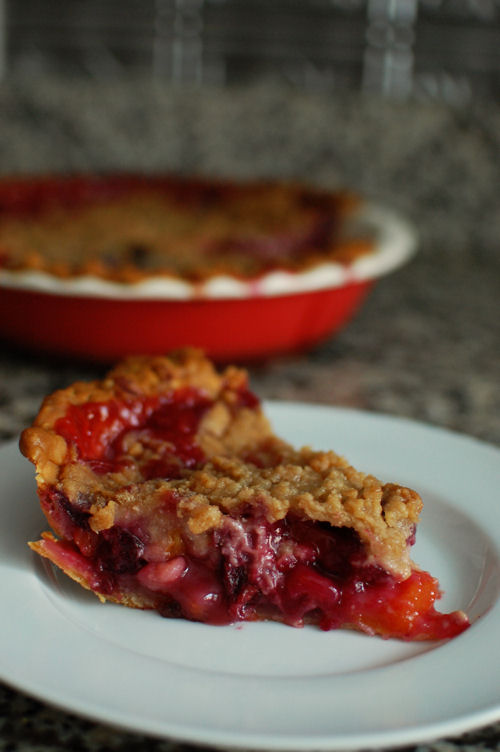 Homemade Cherry Pie with Crumb Topping - Kevin Is Cooking |Cherry Pie With Crumb Topping