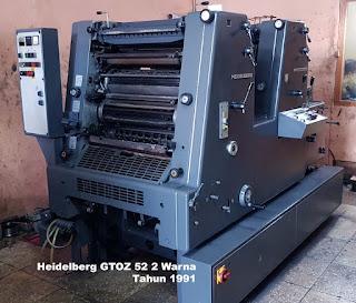Heidelberg GTOZ 52 1991