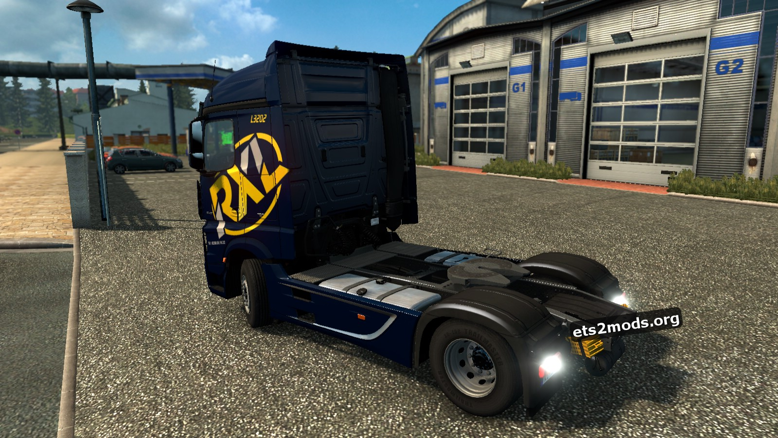 Rouxel Skin for Mercedes MP4