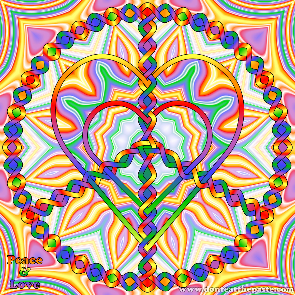 coloring pages peace love - photo#28