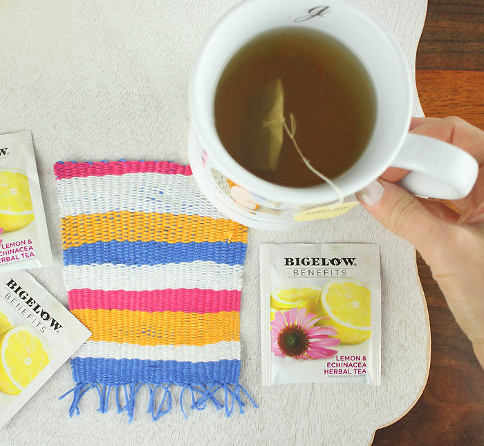 Woven Coasters DIY and How to Make a Mini Loom