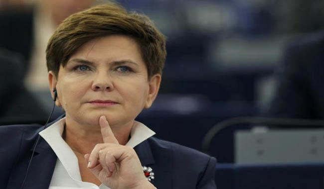 Polish Prime Minister Beata Szydlo injured in car accident