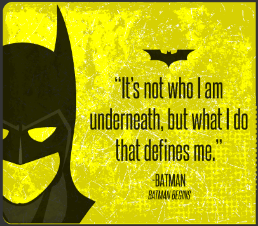 Batman Inspirational Quotes Oh My Fiesta! For Geeks