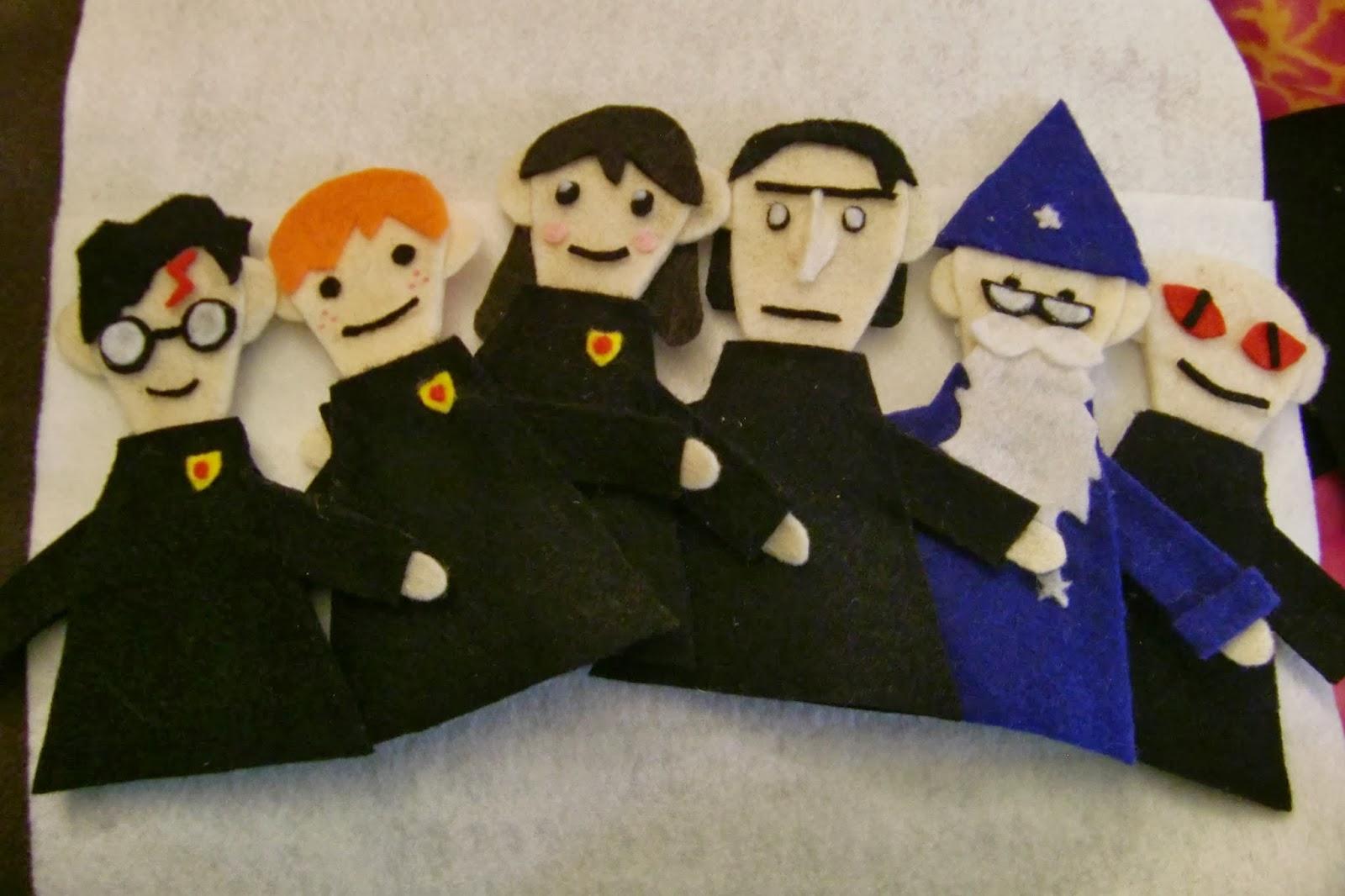 Potter Puppet Pals- finger sized! DIY