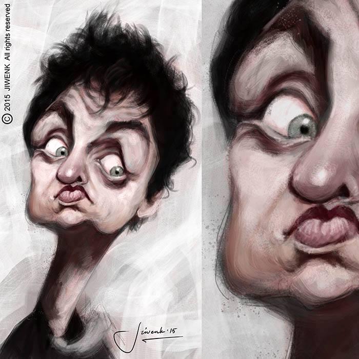 Billie Joe Armstrong por Jiwenk