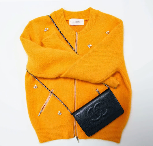 [Fashion Fondue] How to Add Sparkle to Your Look _ Jeweled Bomber Cardigan !