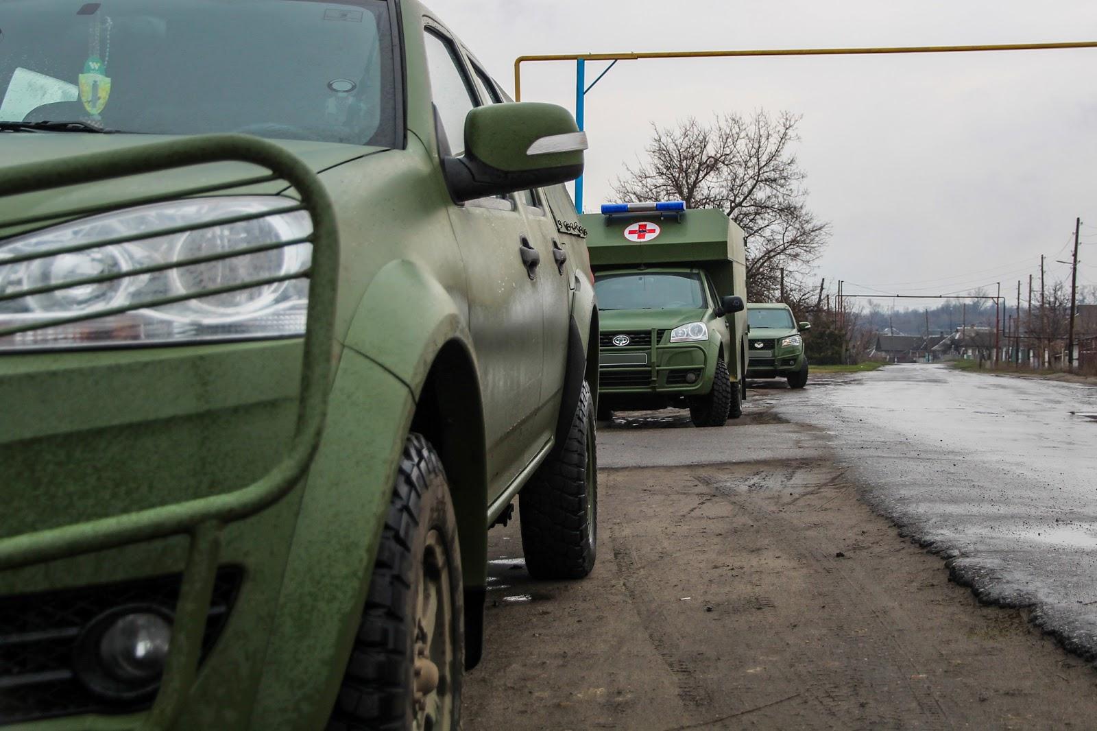 Оновлено близько половини санітарного транспорту ЗСУ