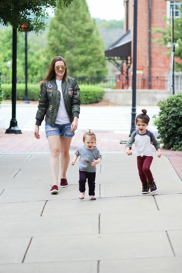 Mom Style: Bomber Jackets