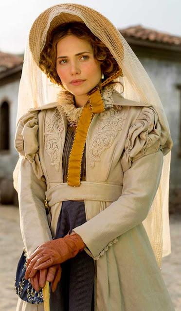 Leopoldina (Leticia Colin) Novo Mundo,vestido