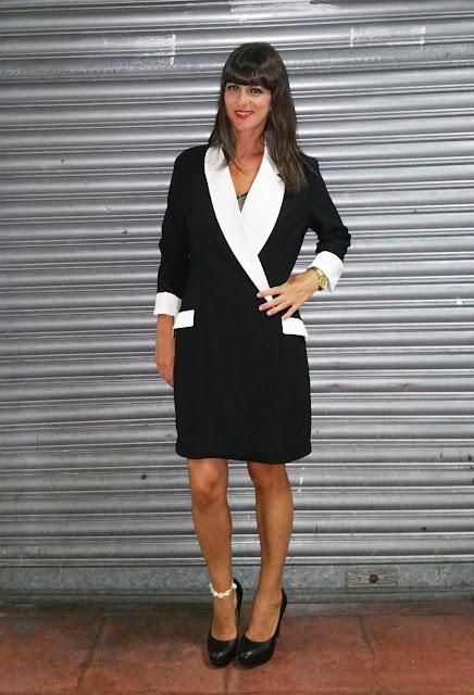 Maxiblazer vestido