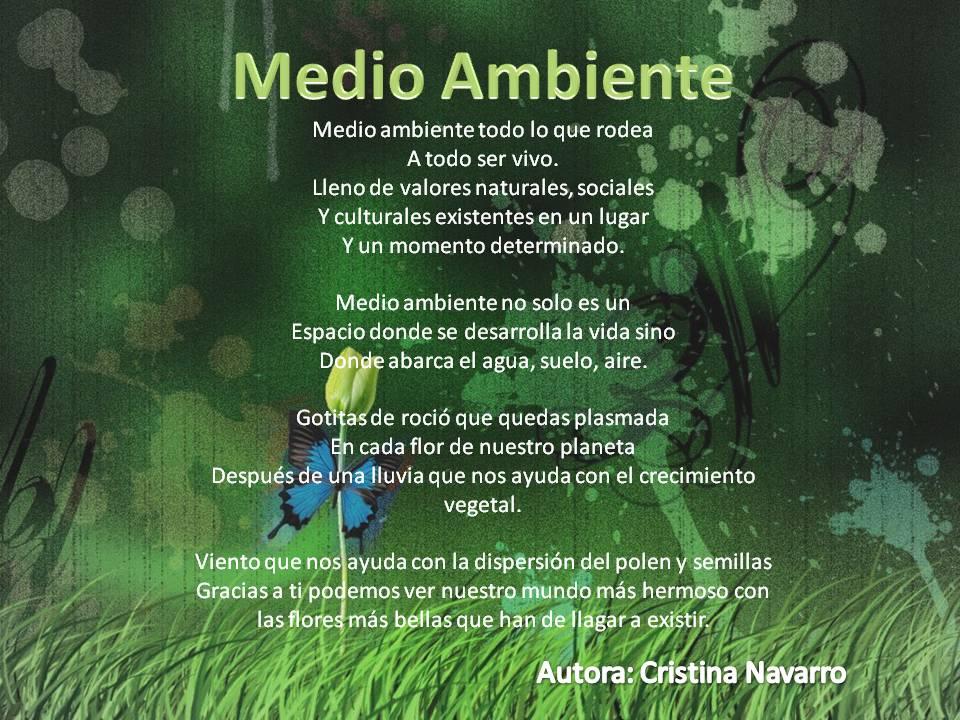 Poema Medio Ambiente Un Mundo Mejor Hello Foros