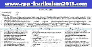 gambar silabus k13 revisi 2017 bahasa inggris kelas 8
