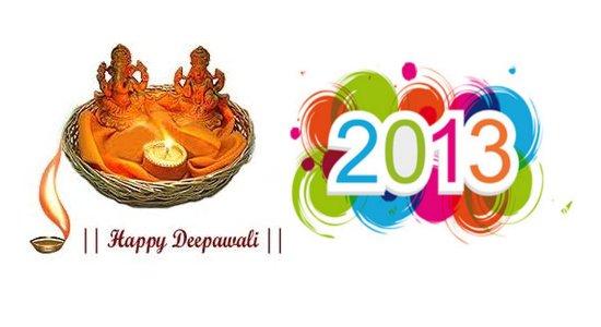 When is Diwali 2013