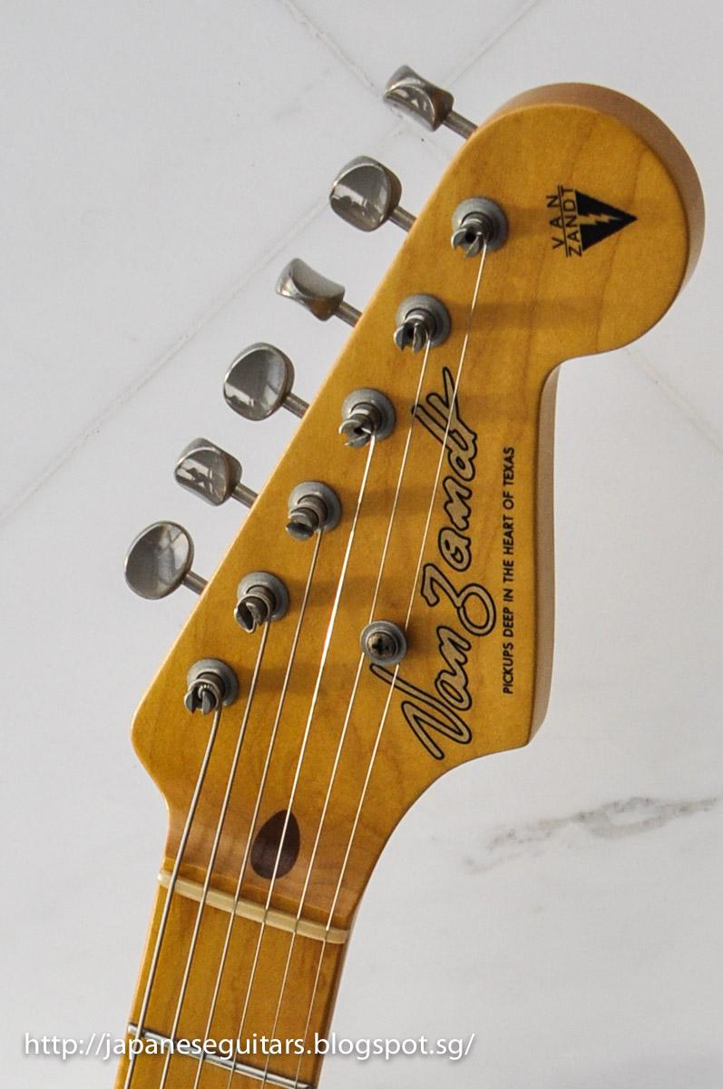japanese guitars deep in the heart of texas vanzandt stv r1. Black Bedroom Furniture Sets. Home Design Ideas