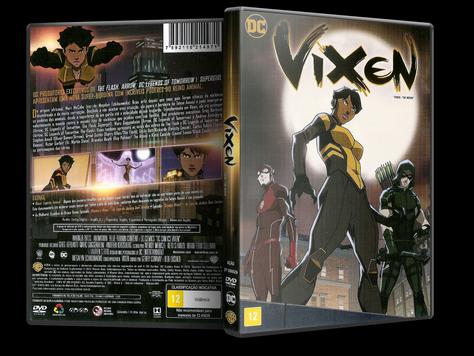 Capa DVD Vixen