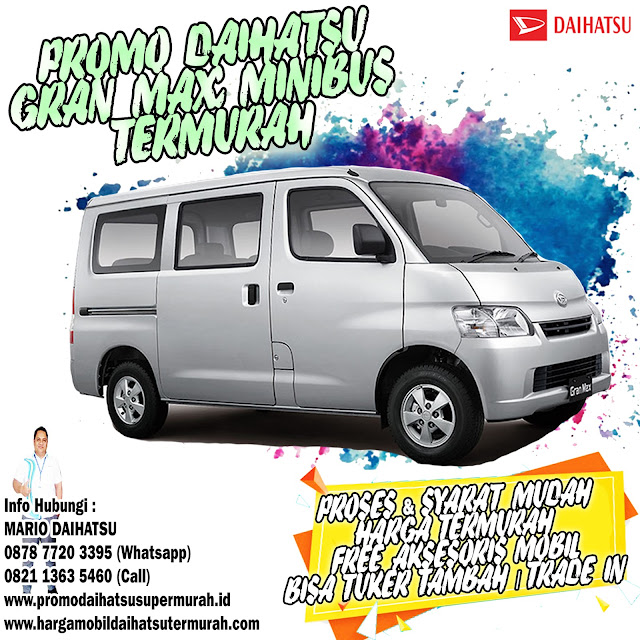 promo daihatsu gran max minibus
