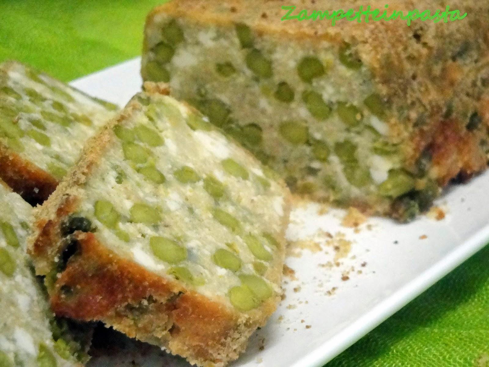 Plumcake di asparagi - Ricetta con gli asparagi