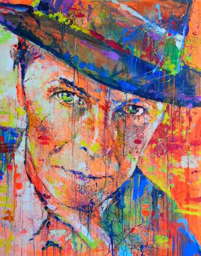 Смесь экспрессии и сумасшедшей цветовой палитры. Marta Zawadzka