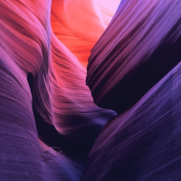 17 Real Places That Are Probably Portals To The Wizarding World - Antelope Canyon in Page, Arizona
