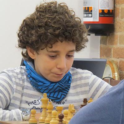 El ajedrecista Sub-12 JOSEP NAVAJAS ÁLVAREZ