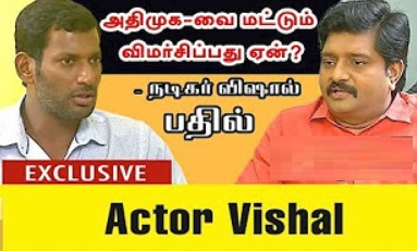 Agni Paritchai 06-12-2017 Exclusive Interview With Actor Vishal On RK Nagar By-Election