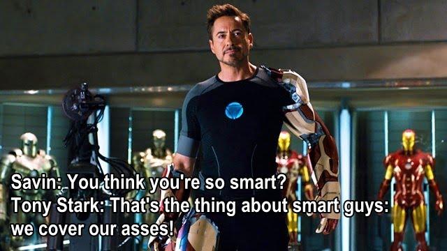 Iron Man 3 movie quotes, escapematter