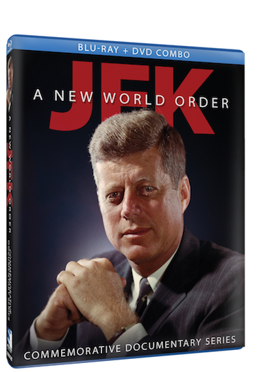 JFK: A NEW WORLD ORDER cover