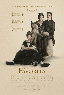The Favourite 2018 DVD R1 NTSC Latino