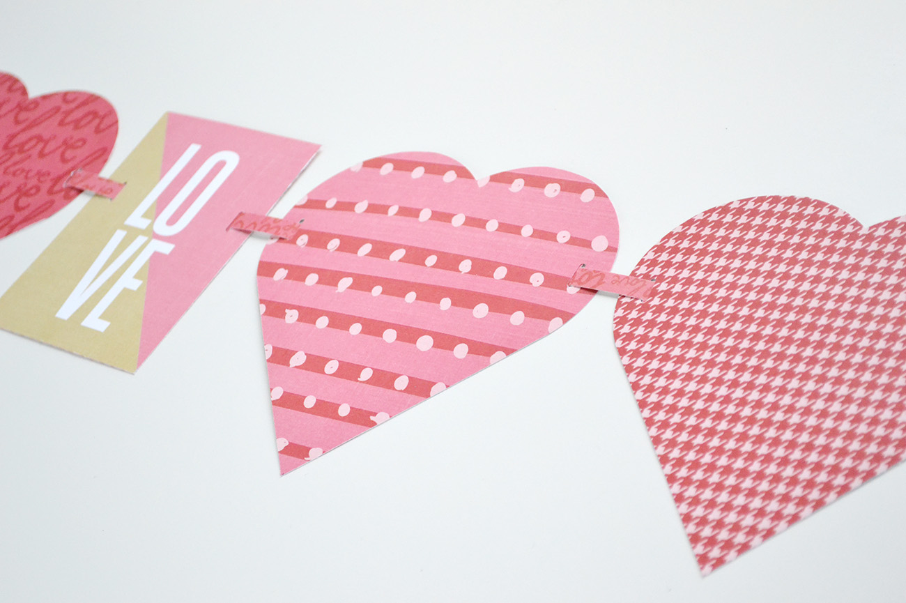 Aly dosdall easy heart garland with the alphabet punch board easy heart garland with the alphabet punch board jeuxipadfo Gallery
