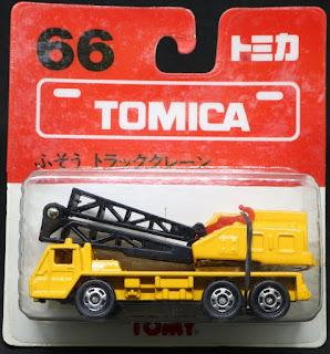 Tomica - 66 Crane, 吸塑包裝