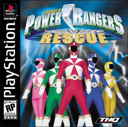 Power Rangers - Lightspeed Rescue - PS1 - ISOs Download
