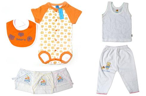 perlengkapan baju dan celana bayi